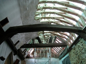 North Chapel - Ceiling Removal
